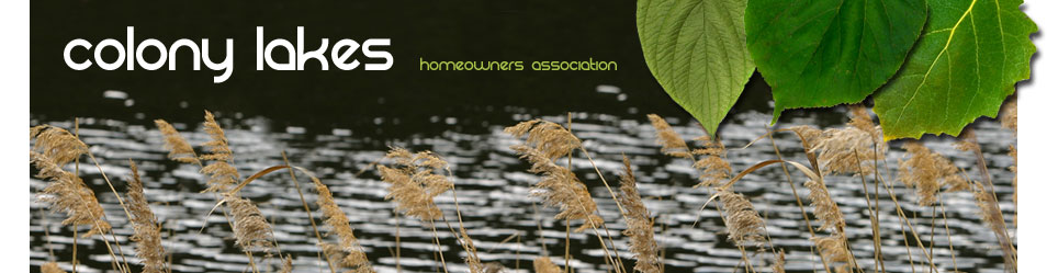 Colony Lakes Homeowners Association